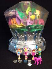 Polly Pocket Mini 💛  2001 Diamond Wonderland - Jewel Fairies light Fee Diamant