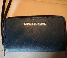 569ec7a02a08e MICHAEL KORS Geldbörse mit Smartphone-Fach Schwarz Original und in gutem  Zustand
