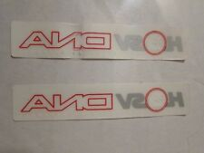 Set of 2 DNA side rear window decal sticker suit VY/VZ/VE/VF HSV
