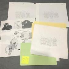 TRANSFORMERS JAPANESE BEAST WARS 2 II PRODUCTION ART! LIO CONVOY BIG HORN LOT 15