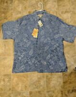 New Island Republic Silk Aloha Shirt XXL