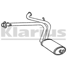 Exhaust Rear Back Box Silencer Ducato Boxer Relay 2.5 and MOTORHOME DIN3313