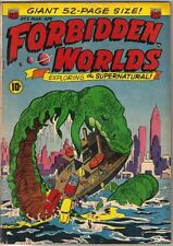 Forbidden Worlds Comic Book #5, ACG 1952 VERY GOOD