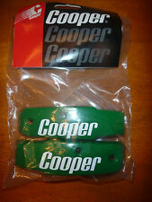 New Cooper Sk2000 Hockey Goalie Helmet Green side bars bumpers hasek osgood rare