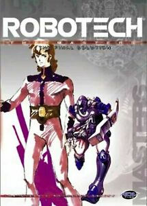 V2 Brand New Sealed - Robotech The Final Solution R1 Rare DVD