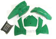 GREEN PLASTIC BODY FENDER FAIRINGS KIT KTM50 SR ADVENTURE JR 50cc SX NEW Z286