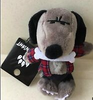 USJ limited Snoopy Halloween stuffed toy strap wolf man Horror Nights Japan