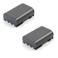 2er Set Akku für Canon EOS 350D, 400D 350-D, 400-D ACCU Batterie Battery 600mAh