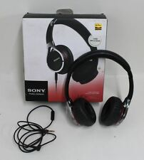 NEW SONY MDR-10RC Black Lightweight Folding Stereo On-Ear Overhead Headphones