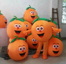 orange mascot costume fashion fruit show halloween Xmas party doll clothes gifts