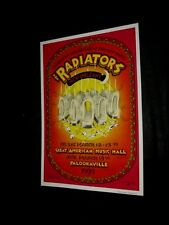 Original The Radiators New Orleans Concert Poster Signed Artist Randy Tuten #2