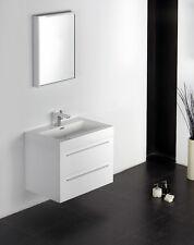 Ensemble de salle de bain, T730,blanc, lavabo et meuble sous vasque