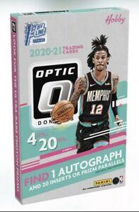 2020-21 FOTL Panini Optic Basketball Hobby Box Factory Sealed