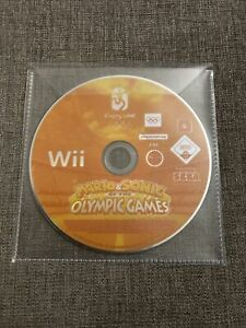 Mario & Sonic at the Olympic Games Nintendo Wii Game Tested + Working Disc Only