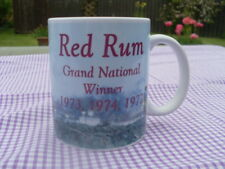 Grand National Red Rum Tribute mug 11oz original design Christmas Birthday Gift