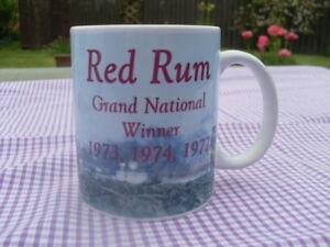 Grand National Red Rum Tribute mug 11oz original design Christmas Birthday Gift