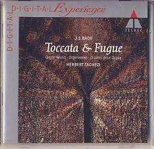 J. S. Bach - Herbert Tachezi: Toccata & Fugue - Organ Works (Teldec) Like New