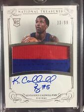 2013-14 Kentavious Caldwell-Pope National Treasures RPA Auto Patch RC 33/99!