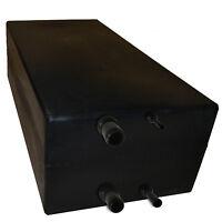 Fresh/Waste Water Storage Tank Container Potable Black 80L - Camper/Caravan/Boat