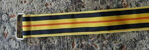 Polo Ralph Lauren Ribbon Belt 43 inch long Yellow/Navy/Red