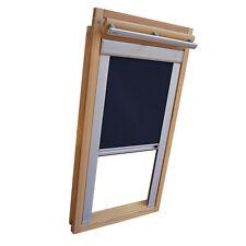 Verdunkelungsrollo mit Schienen für Velux-Dachfenster GGU/GPU/GHU/ in dunkelblau