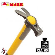 Martello forgiato Gladio Mass 250 gr. con manico fibra 60 cm.
