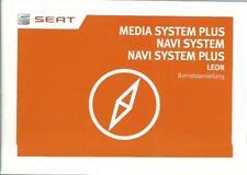 SEAT MEDIA SYSTEM PLUS / NAVI SYSTEM PLUS 2017 Bedienungsanleitung für LEON RN я