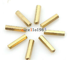 50pcs M3 12 mm Hexagonal net nut Female brass Standoff/Spacer