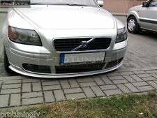 Volvo V50 04-07 R Line Front Bumper spoiler lip chin addon extension SPLITTER
