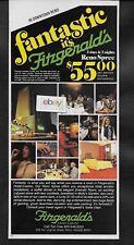 Fitzgerald'S Hotel & Casino Reno Nevada 1979 Fantastic Reno Spree Ad