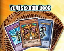Exodia Deck** English 1st Sealed New Original Real YUGI'S Legendary Decks Yugioh