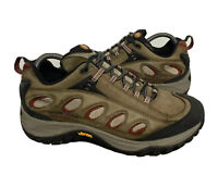 Merrell Mens Passage Ventilator Earth Brown Continuum Vibram Hiking Shoes Size 8