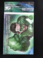 Green Lantern Birthday  Party Supplies Invitations