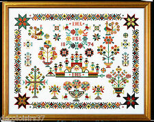 Eva Rosenstand 12-722 Sampler Nederland Embroidery Kit counted