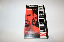 American History X (New Sealed Vhs 1999) Edward Norton, Edward Furlong