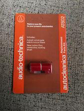 2 x AUDIO-TECHNICA-AUTOCLEANICA-reemplazo - Terciopelo AT-602 1+1 packs