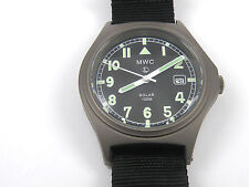 MWC G10 100m Solar Powered Titanium Hybrid Titan Military Watch & New Capacitor