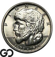 New listing 1936 Elgin Commemorative Half Dollar, Superb Gem Bu+