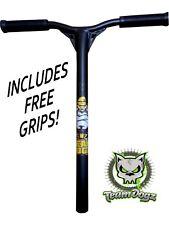 Team Dogz Pro X Black Aluminium Push Scooter Handlebars Handle Bars With Grips