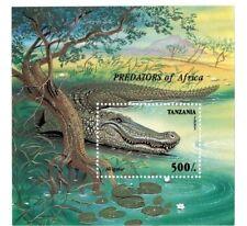 Tanzania 1995 Predators Of Africa Souvenir Sheet - MNH