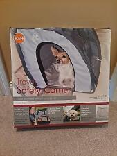 K&H Small Travel Safety Carrier Grey