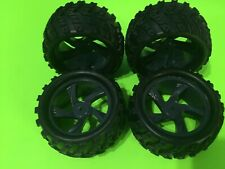REDCAT RACING VOLCANO 18 STOCK WHEELS AND TIRES (4)