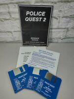 Police Quest 2 Amiga Sierra games KIXX XL