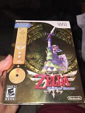 The Legend of Zelda Skyward Sword Gold Remote Bundle NEW SEALED