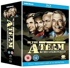 THE A TEAM Complete Collection BOX 22 BLURAY in Inglese NEW .cp