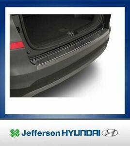 Hyundai Tucson MY18 Genuine Rear Bumper Protector Brushed New