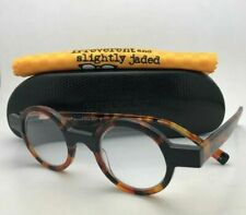 Readers EYEBOBS Eyeglasses ROUND ONE 2421 19 40-23 +2.00 Tortoise & Black Frames