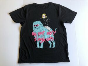 Lewis Capaldi Band Tee T Shirt Size L 2018 Tour TShirt Big Fat Sexy Jungle Cats