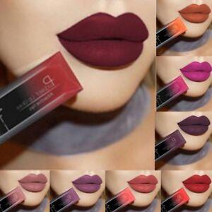 Pudaier Moisturizer Matte Nude Liquid Lipstick Metal Color Lip Gloss Make up Hot