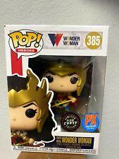 Funko Pop Heroes Dc Death Metal Wonder Woman #385 Glow Chase (Box Issue)